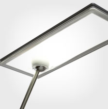 led design lighting. exellent design part of momas permanent collection thanks to its visually striking  fusion form and function element disc a futuristic led design vision and led design lighting
