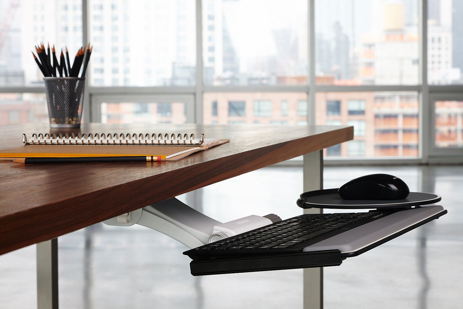 Keyboard Tray And Mouse Platform