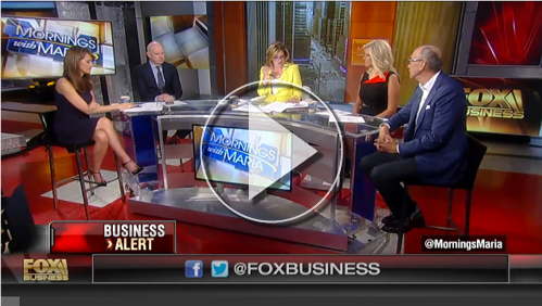 New Video: Robert King on Mornings with Maria, Fox Business
