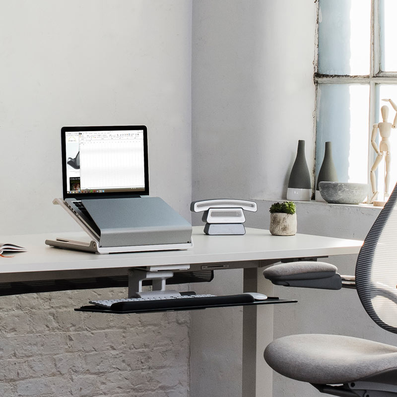 Adjule Portable Laptop Stand L6 Holder Humanscale