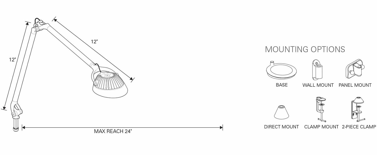 Element Vision Led Lighting Solutions From Humanscale Task Wiring Diagram Tech Specs