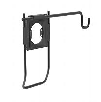 Accessory Holder with Handle and Universal Accessory Bracket, Black