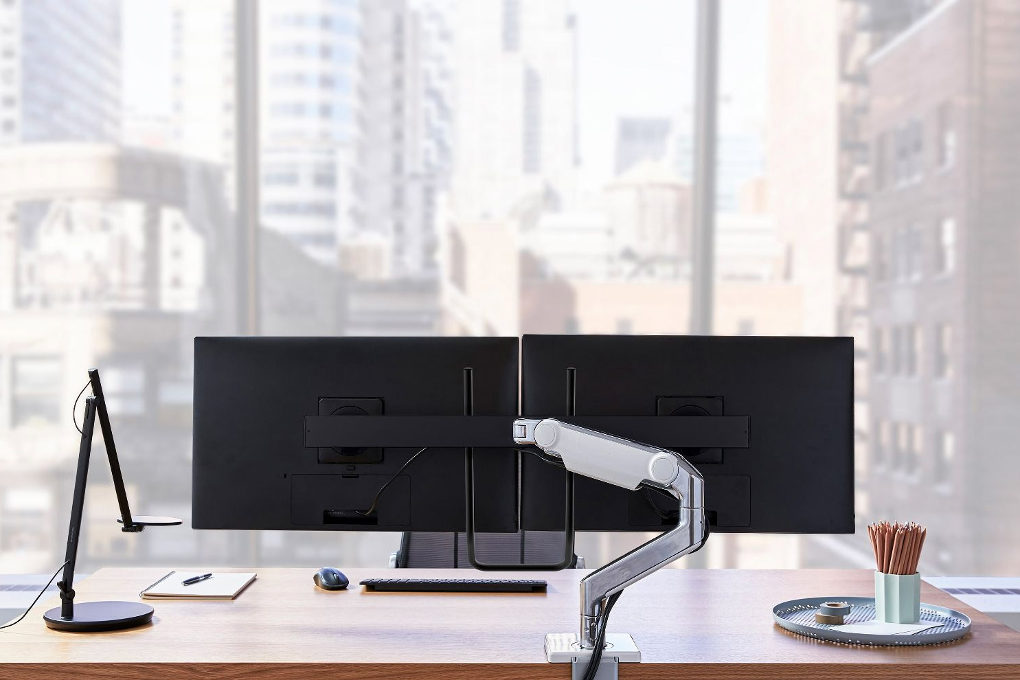 Humanscale Relaunches Best-Selling Monitor Arm Line