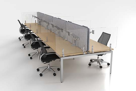 Humanscale Introduces WellGuard Separation Panels, Ensuring a Safer Return to the Workplace