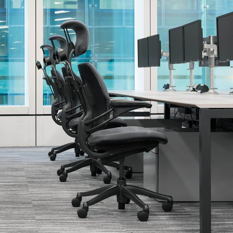 Surprising Ergonomic Executive Chair With Headrest Humanscale Uwap Interior Chair Design Uwaporg