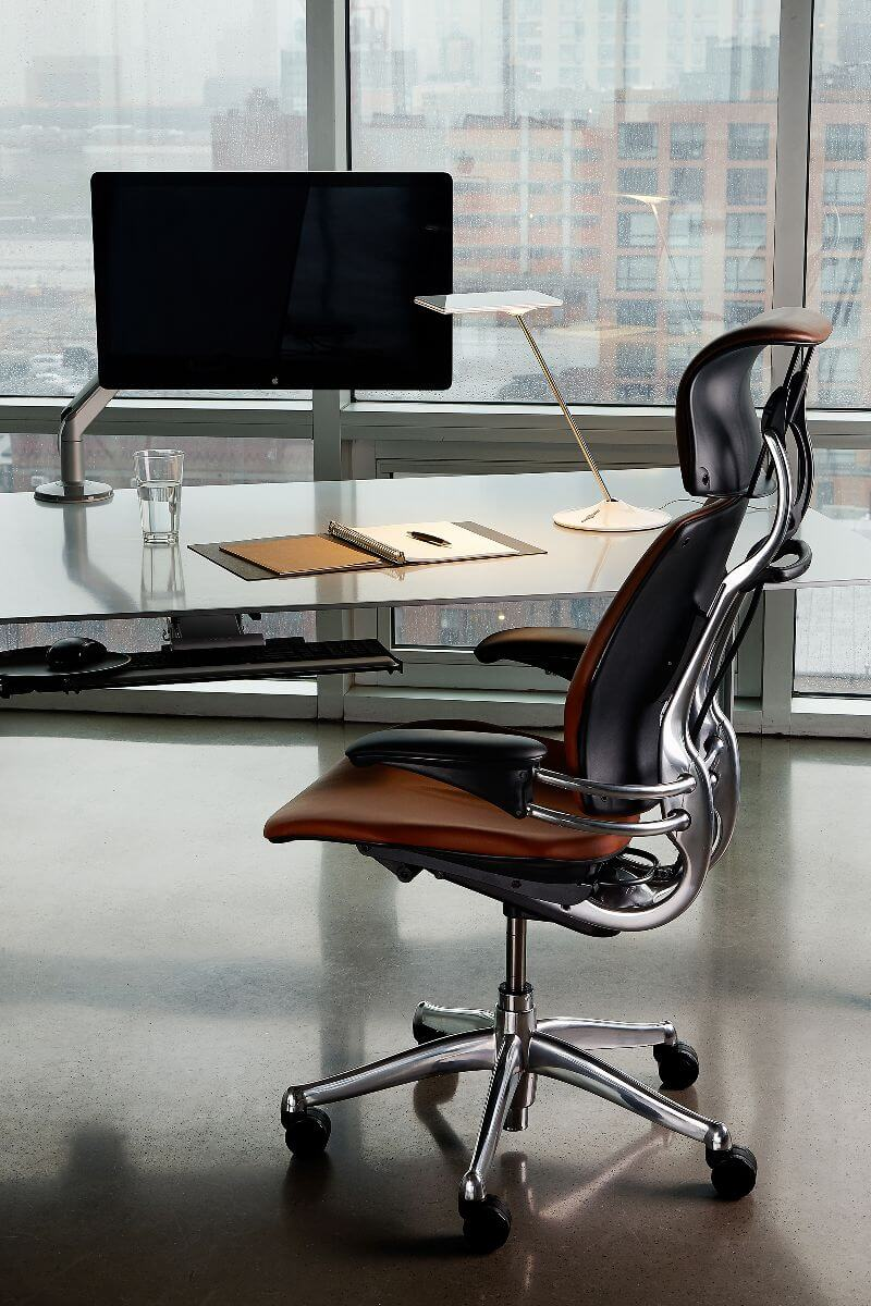 Humanscale Freedom Chair Leather -  res