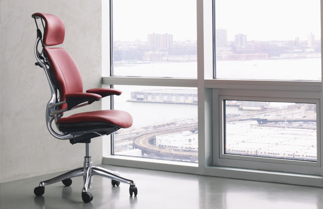 Freedom Task Chair with Headrest  Ergonomic Seating from Humanscale
