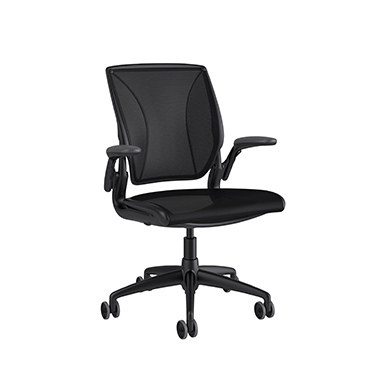 Diffrient World Chair, Catena Black Back, Catena Black Seat