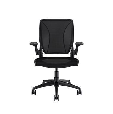Diffrient World Chair, Catena Black Back, Catena Black Seat Picture 2