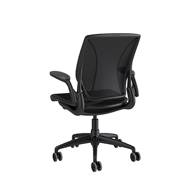 Diffrient World Chair, Catena Black Back, Catena Black Seat Picture 3