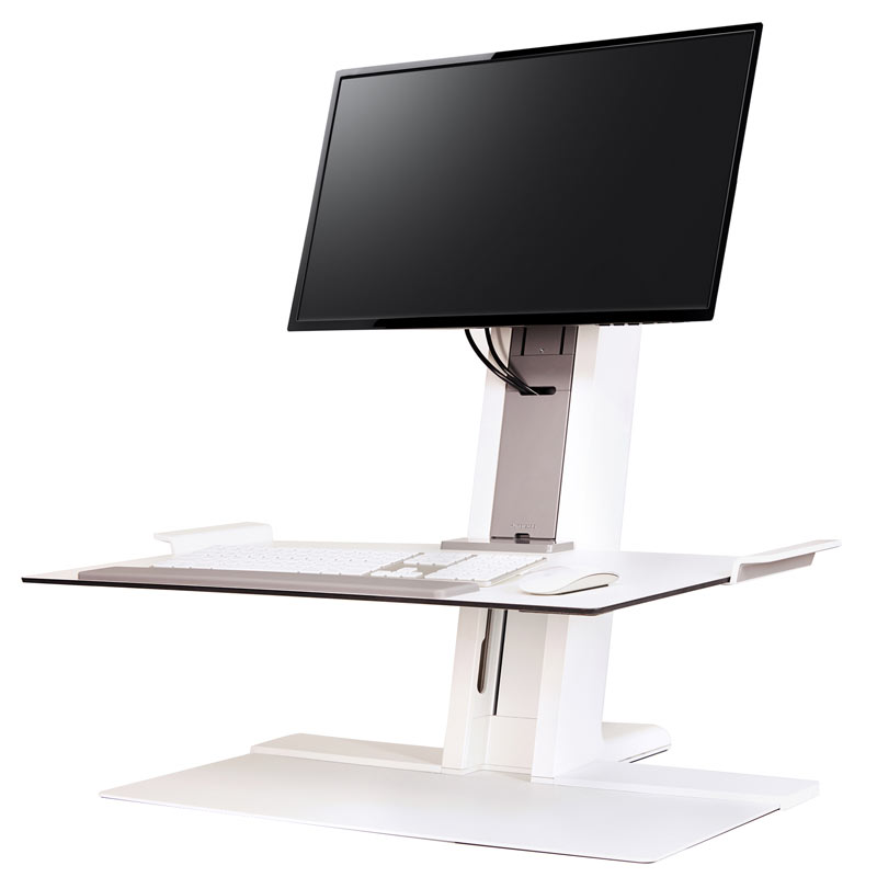Humanscale S Quickstand Workstation The Sit Stand Converter For Active Workplace