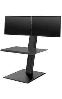 QuickStand Eco, Dual Monitor, Black