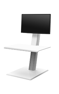 QuickStand Eco, Single Monitor, White