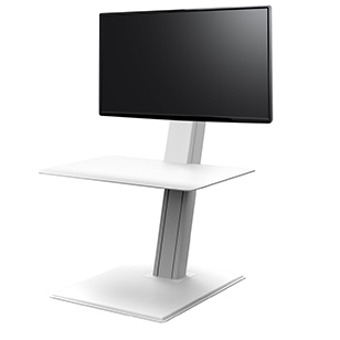 QuickStand Eco, Single Monitor, White - SE