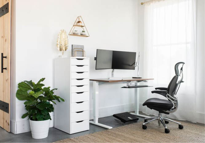 Home Office Setup Best Home Office Setup Humanscale