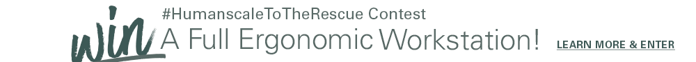 Humanscale to the Rescue Banner