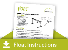 humanscale float table instructions