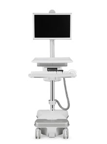 T5 Point-of-Care Technology Cart from Humanscale Healthcare