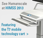 HIMSS 2013 product page footer