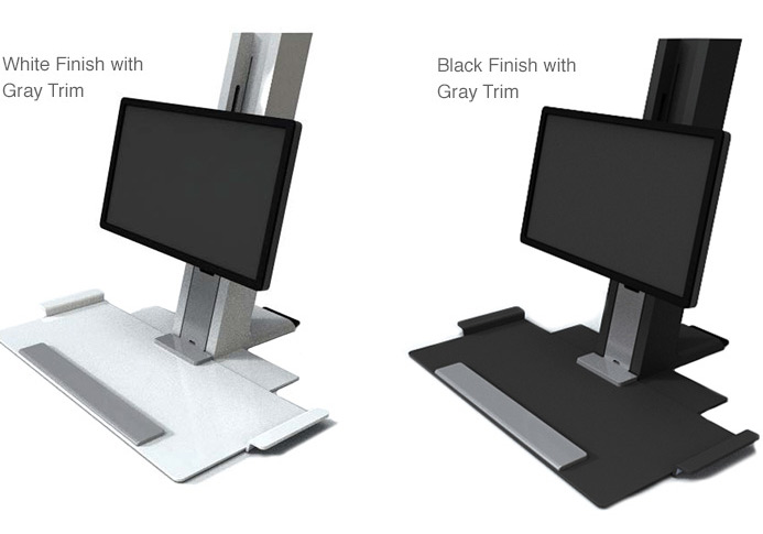 desk into an active workspace. Ideal for the home office, the