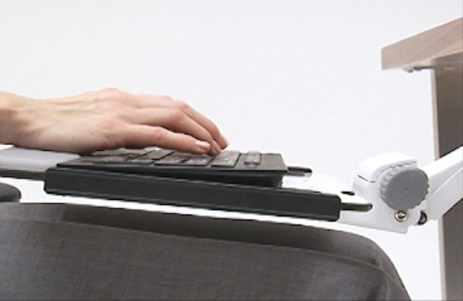 Ergonomic Keyboard Systems   Keyboard Trays And Mouse Platforms | Humanscale