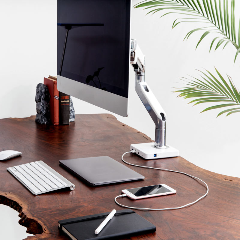 M8 Adjustable Monitor Arm From Humanscale