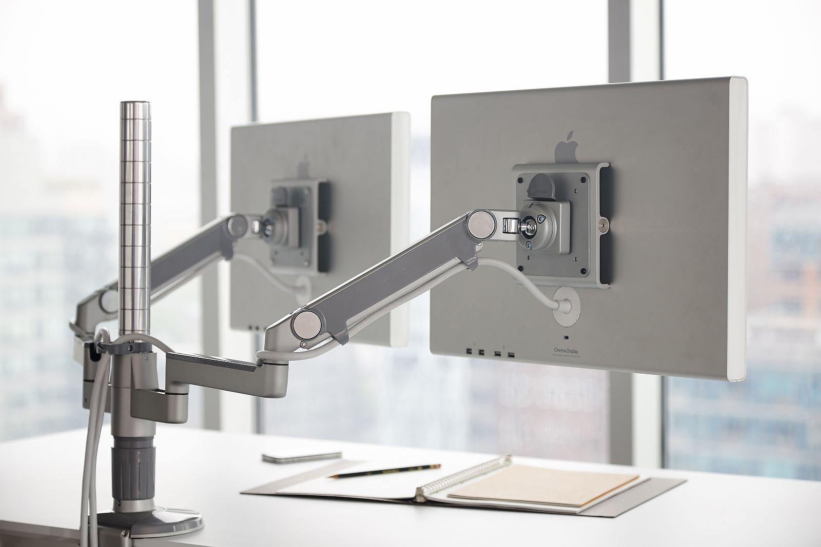 M Flex Humanscale S Multi Monitor Arm Support System